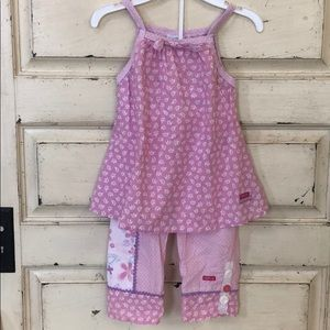 Naartjie kids two piece outfit